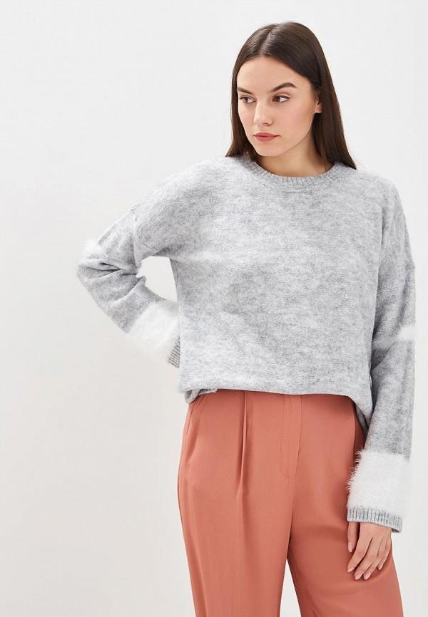 Купить женский джемпер Sisley серого цвета