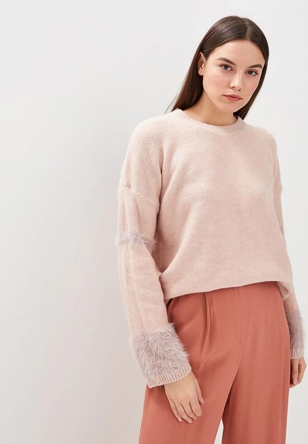 женский джемпер sisley, розовый