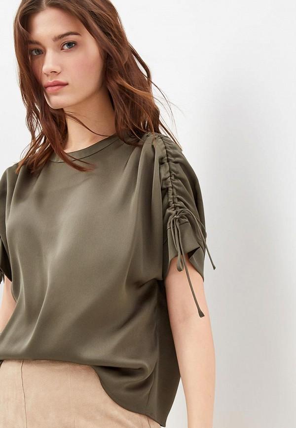 Блуза Sisley Sisley SI007EWDHFT8 блуза sisley sisley si007egwln28
