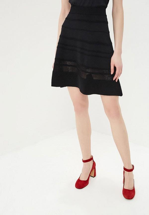 женская юбка sisley, черная