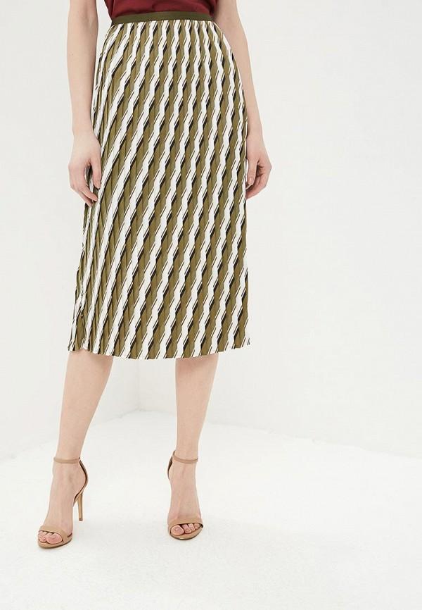 женская юбка sisley, хаки