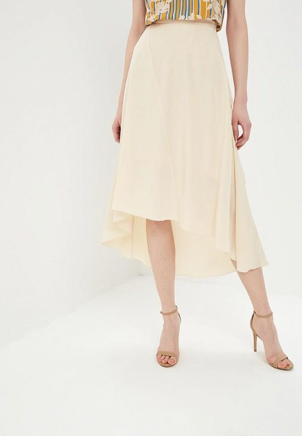 женская юбка sisley, бежевая