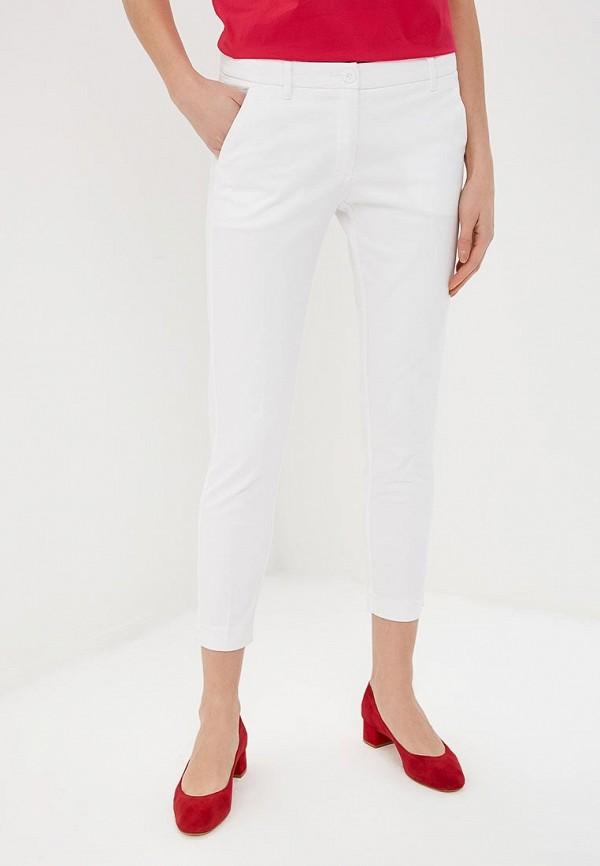 женские повседневные брюки sisley, белые