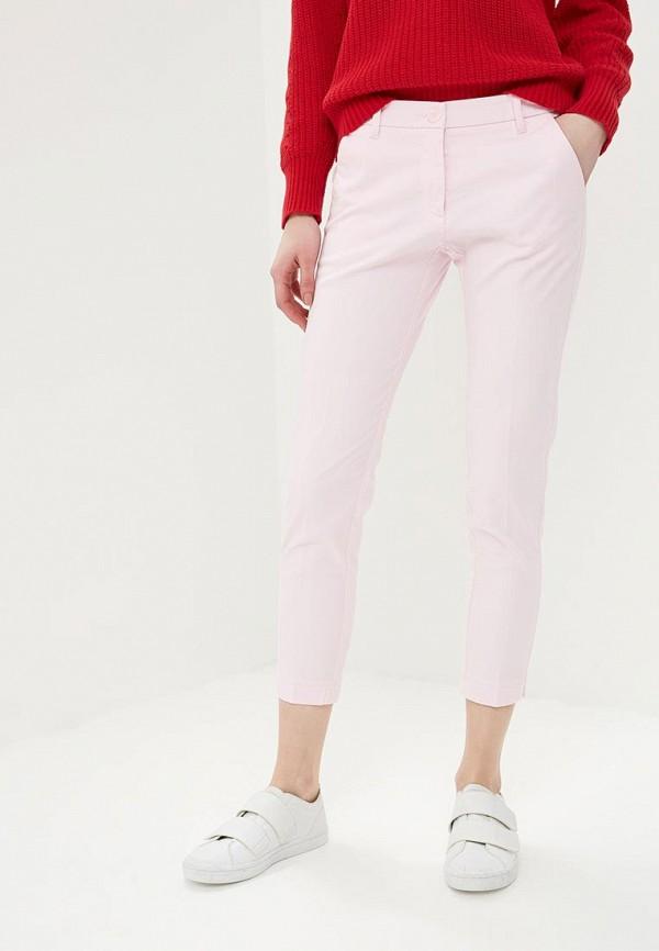 женские повседневные брюки sisley, розовые