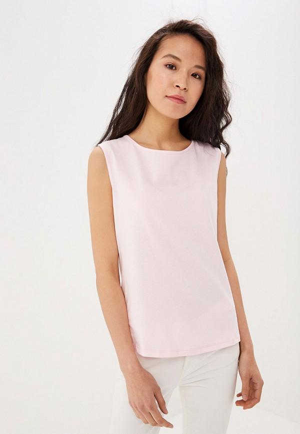 Майка Sisley, si007ewdwya6, розовый, Весна-лето 2019  - купить со скидкой