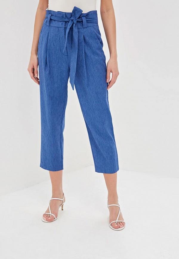 женские повседневные брюки sisley, синие
