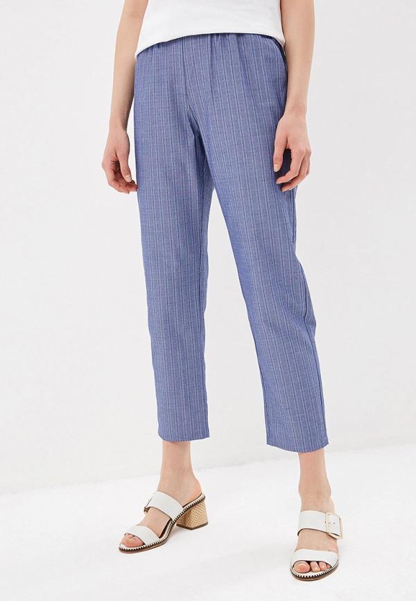 женские повседневные брюки sisley, голубые