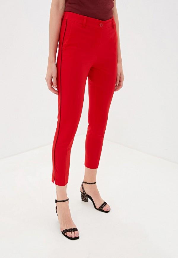 женские брюки sisley, красные