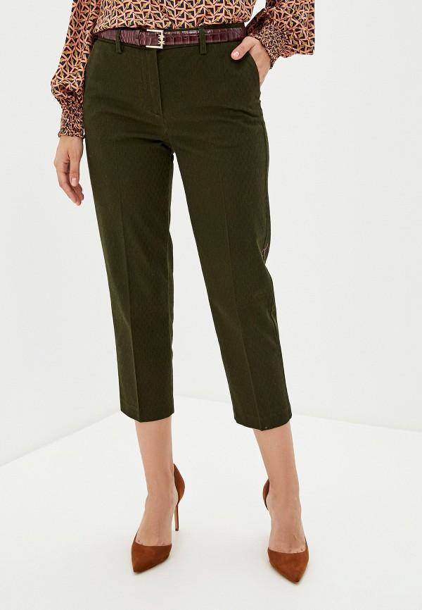 женские повседневные брюки sisley, хаки