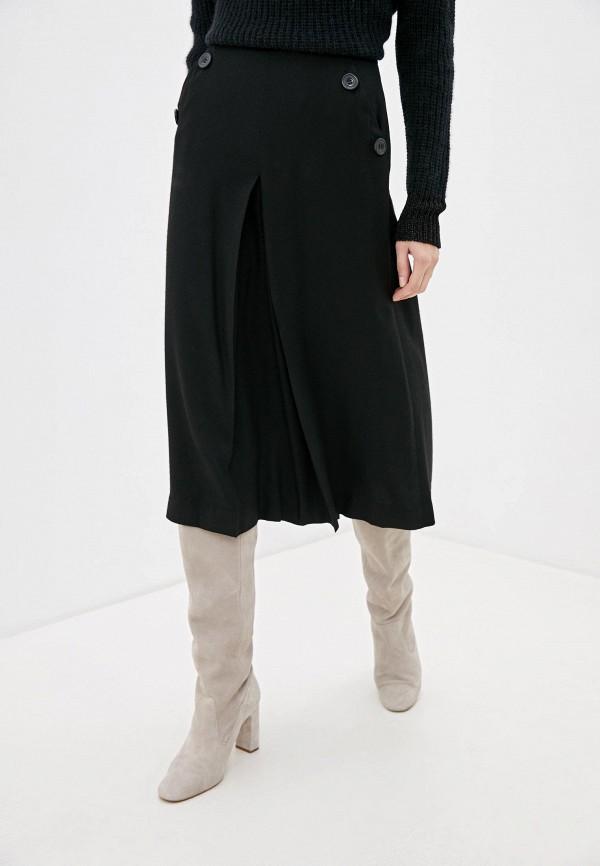 женские брюки sisley, черные