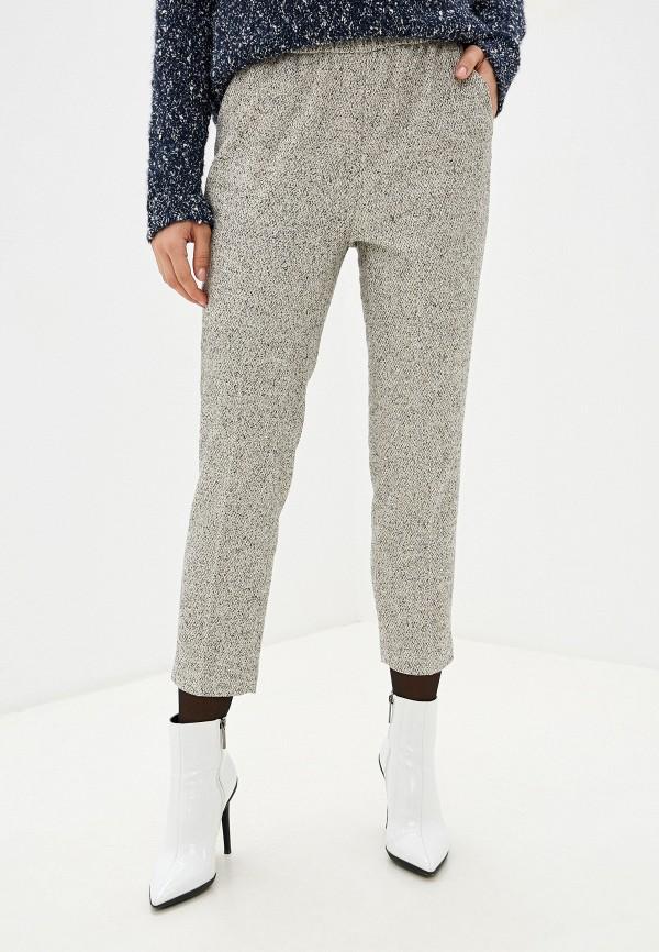 женские повседневные брюки sisley, серые