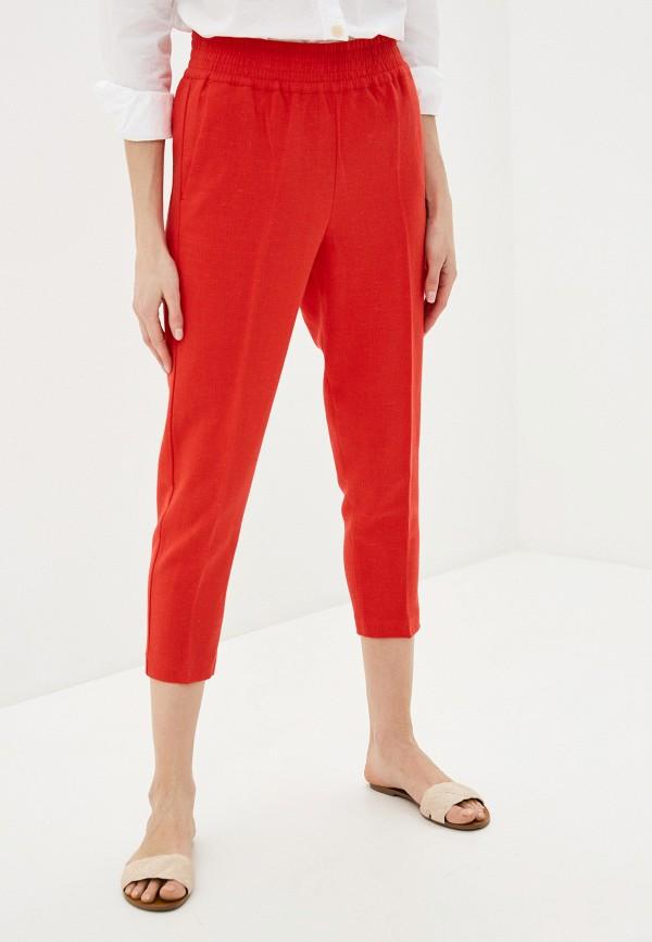 женские повседневные брюки sisley, красные