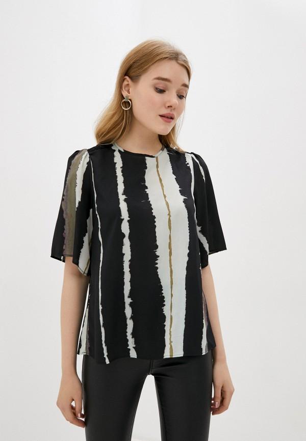женская блузка sisley, разноцветная