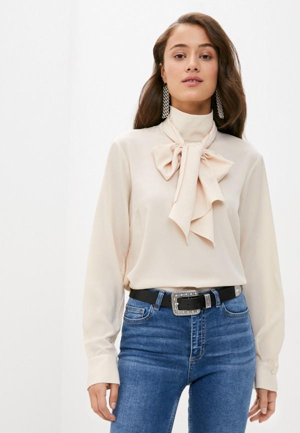 женская блузка sisley, бежевая