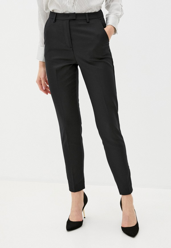 женские классические брюки sisley, черные