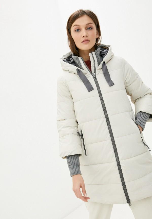 женская куртка sisley, бежевая