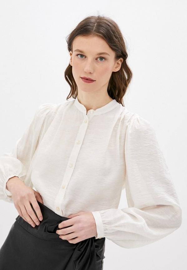 женская блузка sisley, белая