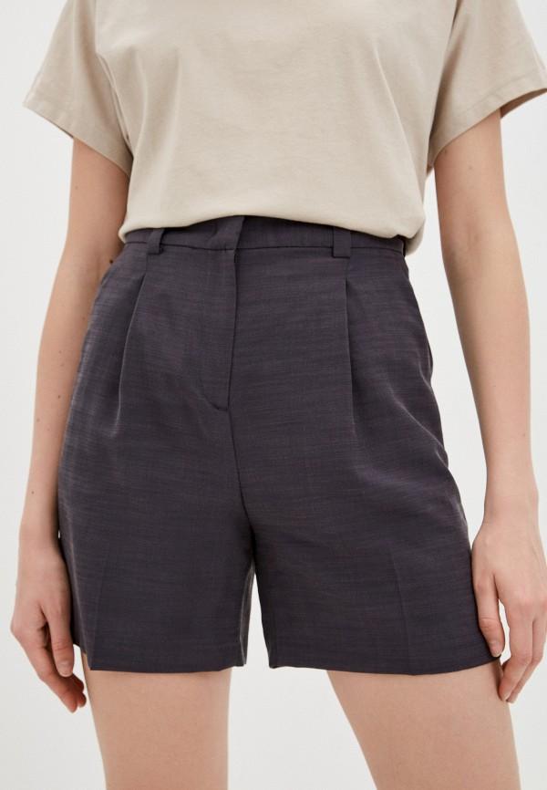 женские повседневные шорты sisley, серые