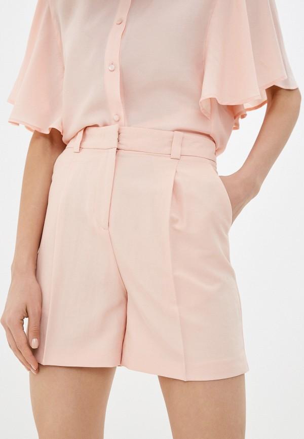 женские повседневные шорты sisley, розовые