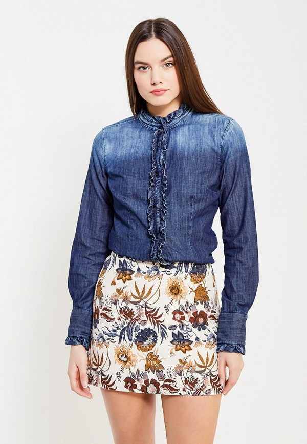 Рубашка джинсовая Sisley Sisley SI007EWXOB98