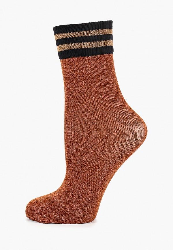женские носки sisley, коричневые