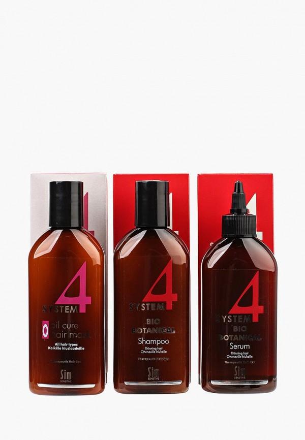 Купить Набор для ухода за волосами Sim Sensitive, от выпадения SYSTEM 4, 215 мл, SI024LWPLI27, Осень-зима 2018/2019