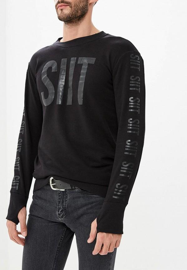 Купить Свитшот Sitlly, SI029EMCOEK1, черный, Осень-зима 2018/2019