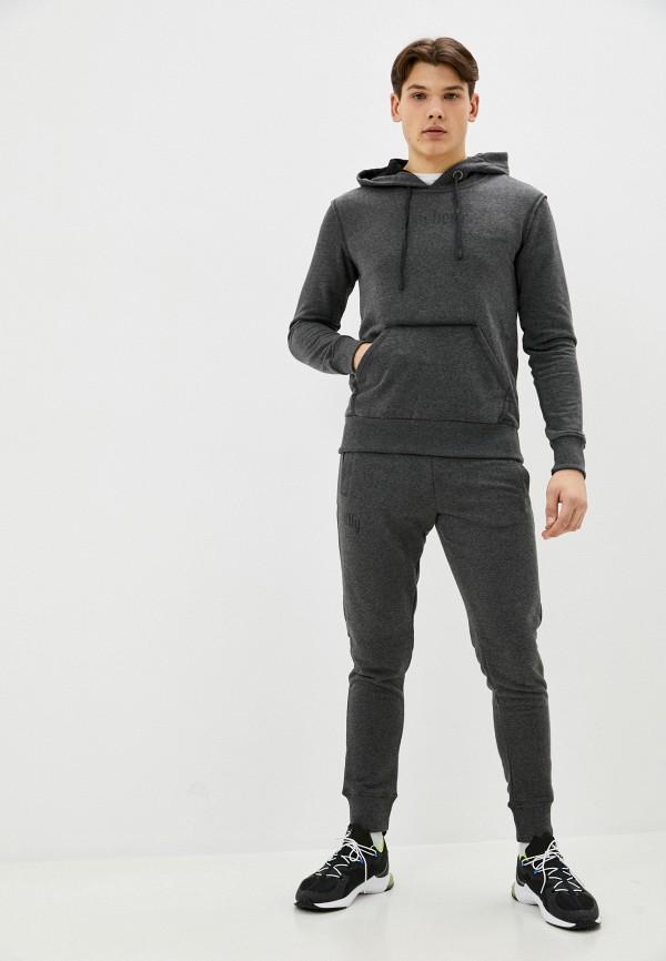мужской спортивный костюм sitlly, серый
