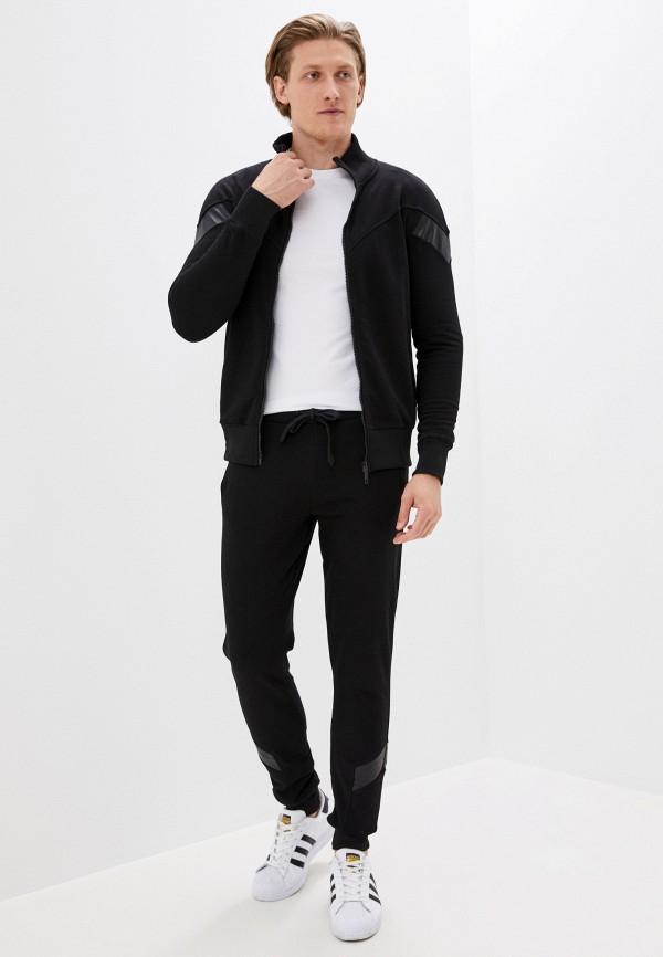 мужской спортивный костюм sitlly, черный
