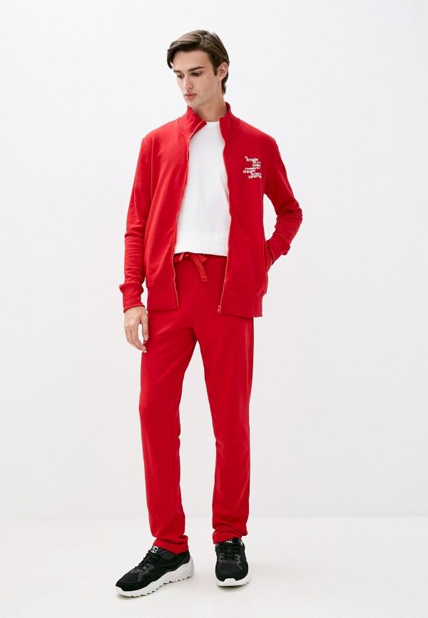 мужской спортивный костюм sitlly, красный
