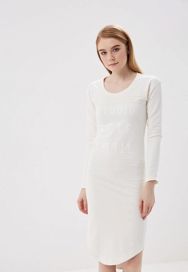 Купить Платье Sitlly, SI029EWASSN6, белый, Весна-лето 2018