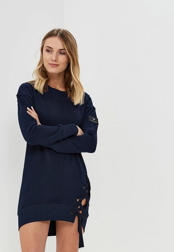 Купить Платье Sitlly, si029ewazgz4, синий, Осень-зима 2018/2019