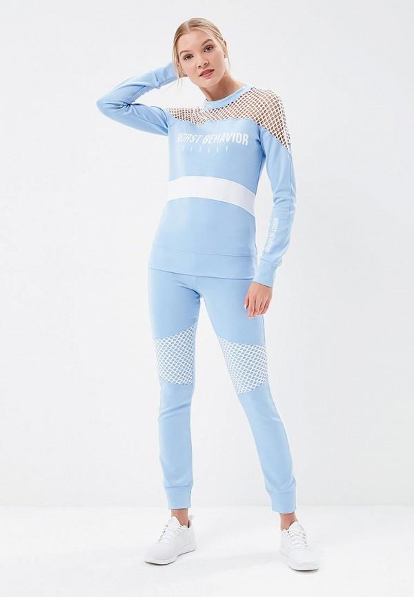 Костюм спортивный Sitlly Sitlly SI029EWBDPK5 голубой костюм маленькой лошадки 30 32