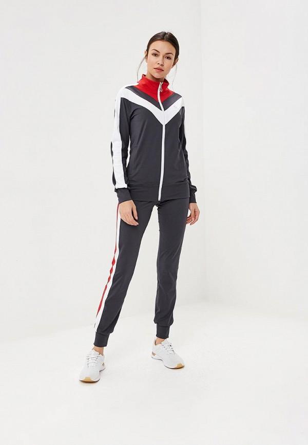 Купить Костюм спортивный Sitlly, SI029EWBPFZ6, серый, Осень-зима 2018/2019