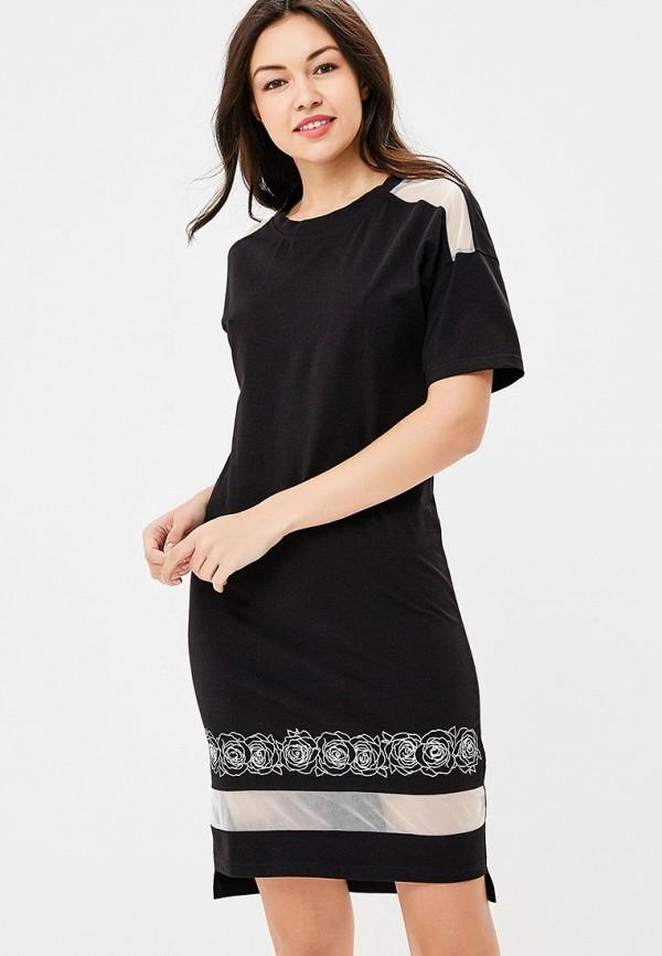 Купить Платье Sitlly, SI029EWBRKM9, черный, Осень-зима 2018/2019