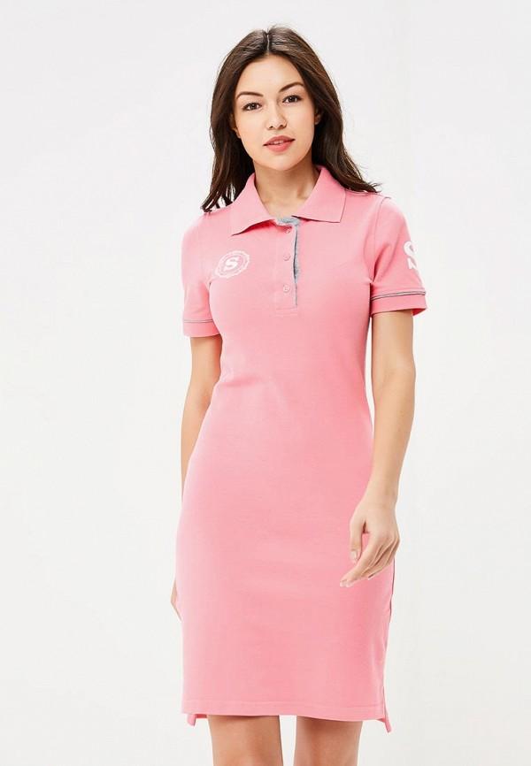 Купить Платье Sitlly, si029ewbrkn1, розовый, Осень-зима 2018/2019