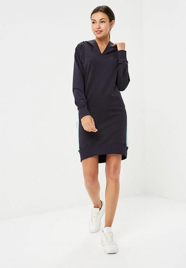 Фото 2 - женское платье Sitlly синего цвета