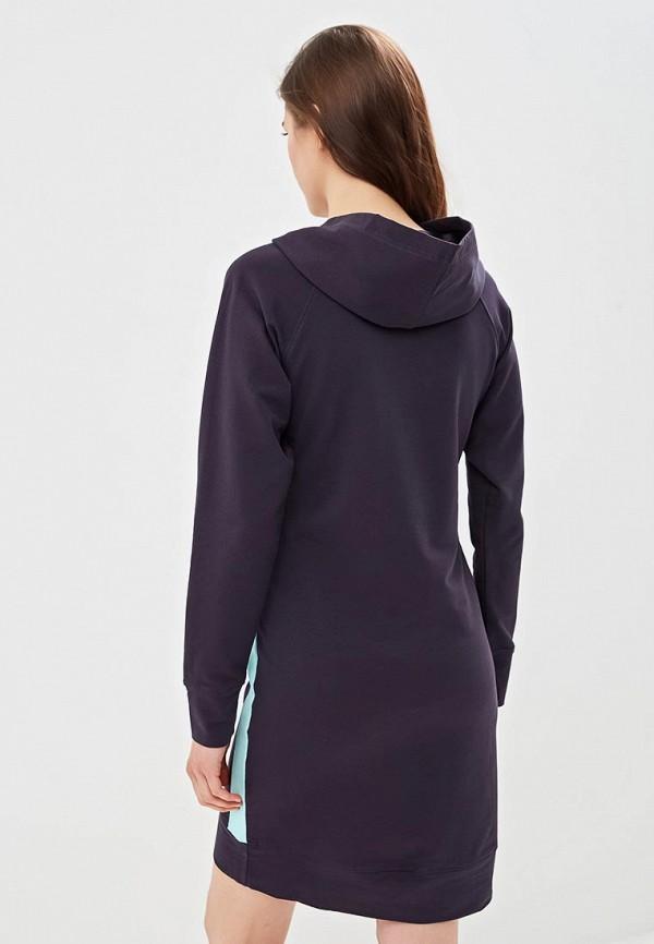 Фото 6 - женское платье Sitlly синего цвета