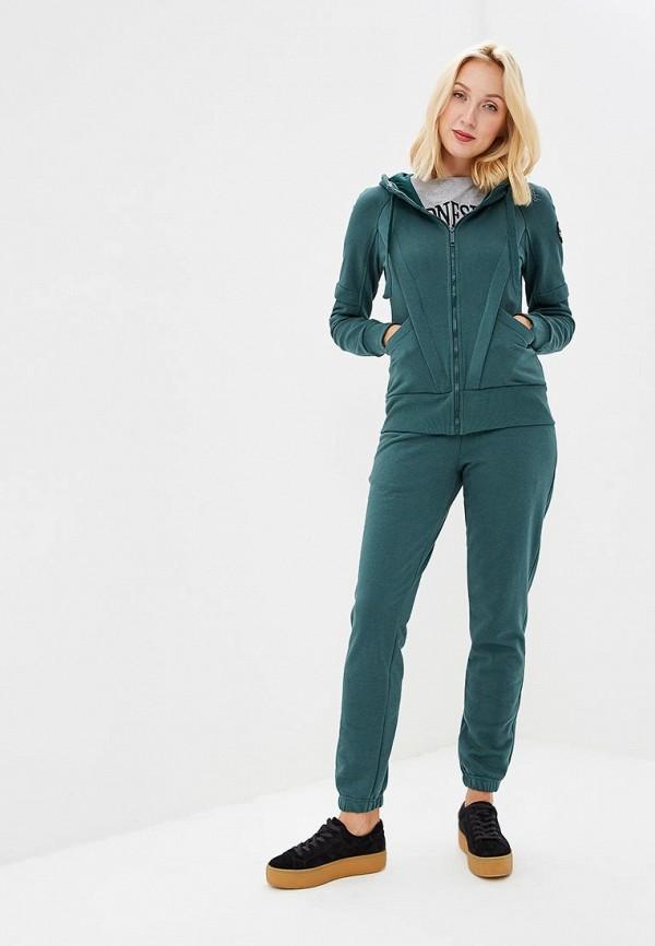 женский спортивные спортивный костюм sitlly, зеленый