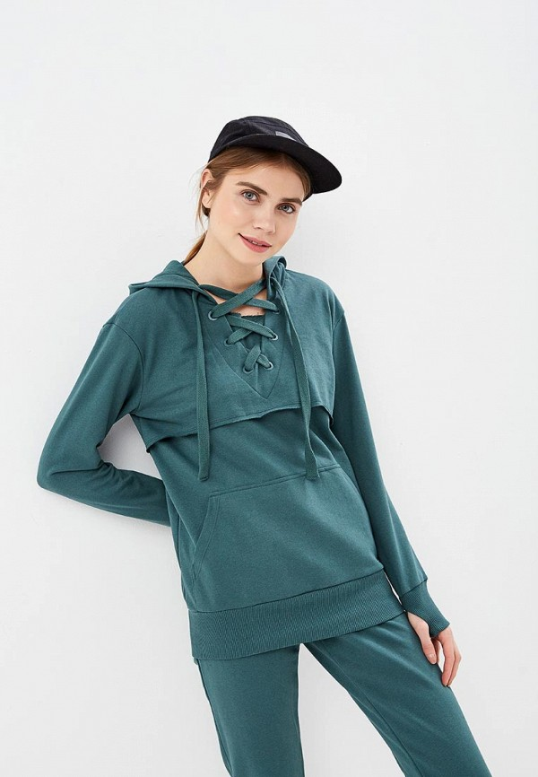 Фото 2 - Костюм спортивный Sitlly зеленого цвета