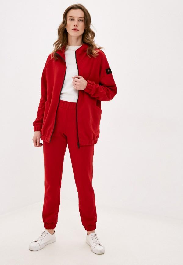женский спортивный костюм sitlly, красный