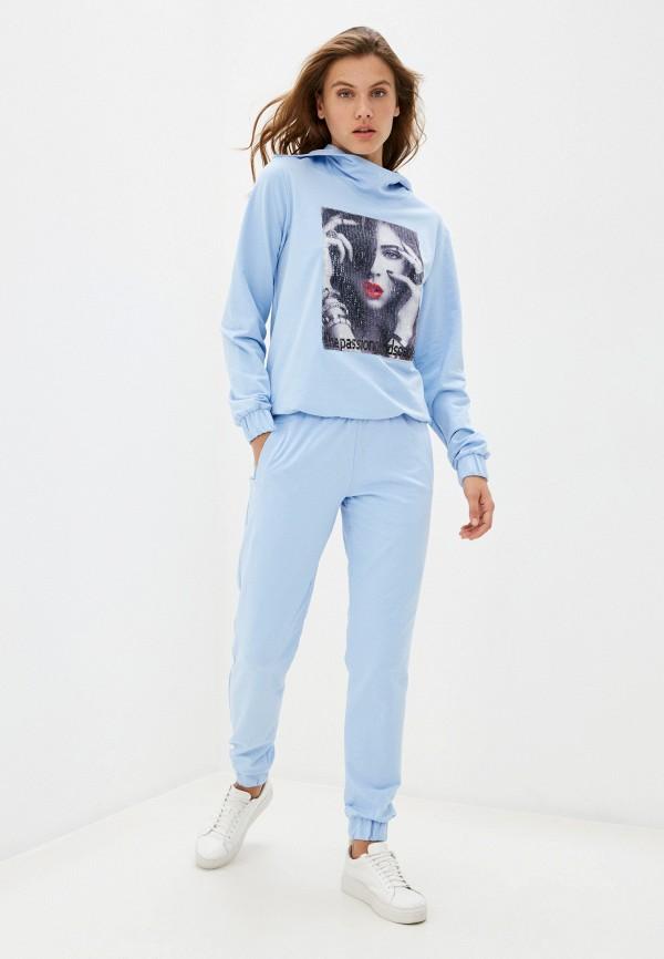 женский спортивный костюм sitlly, голубой
