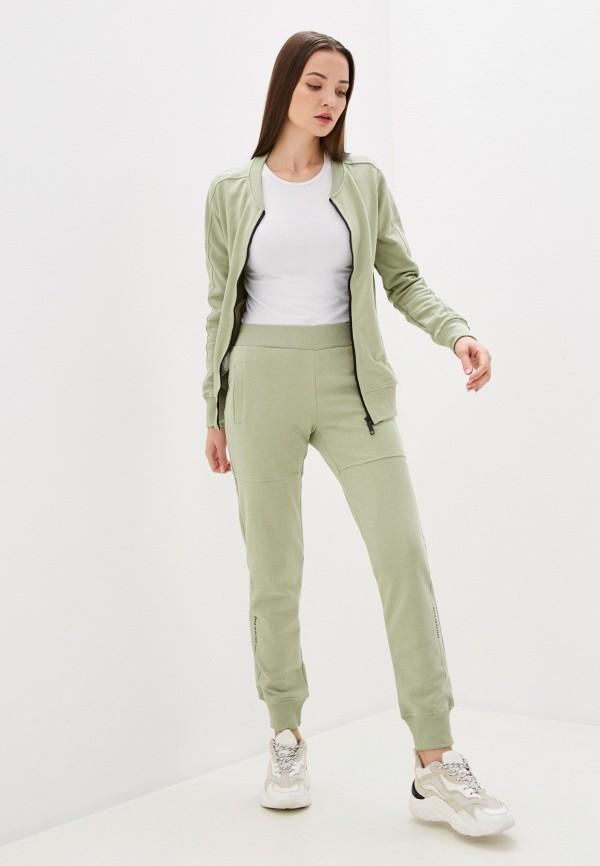 женский спортивный костюм sitlly, зеленый