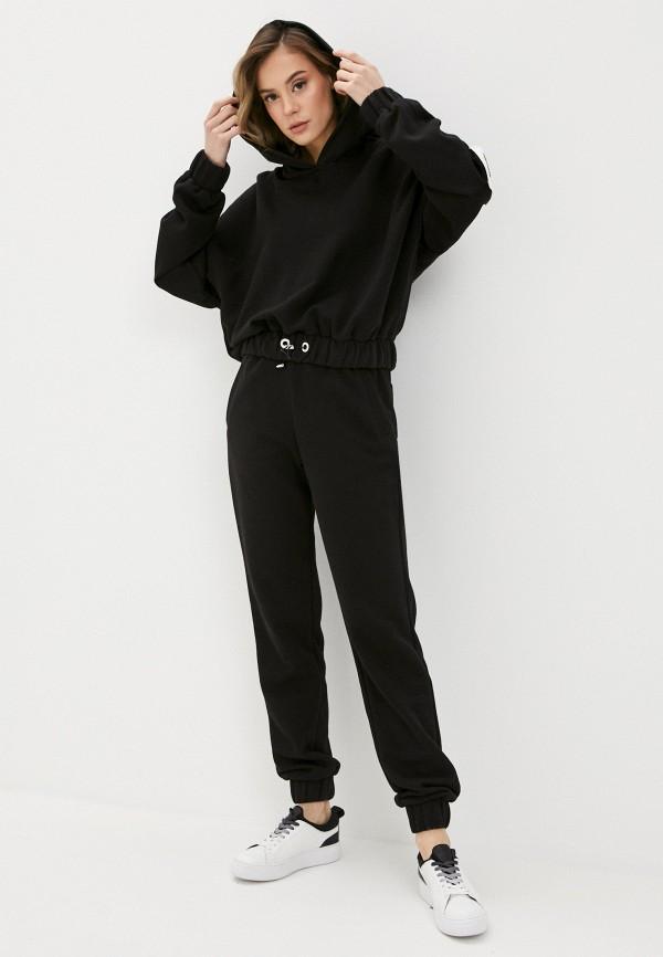 женский спортивный костюм sitlly, черный