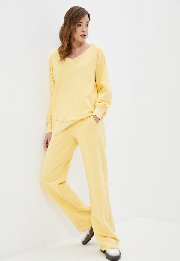 женский спортивный костюм sitlly, желтый