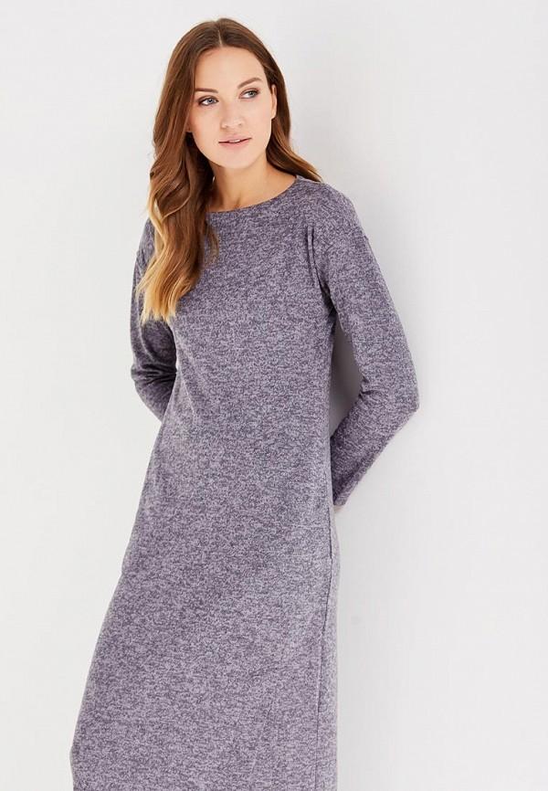 Фото 2 - женское платье Sitlly серого цвета