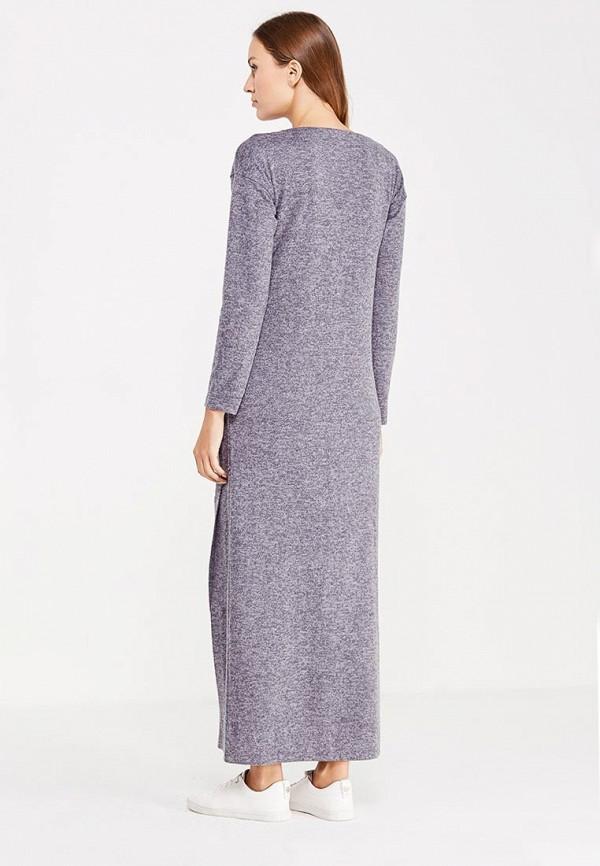 Фото 3 - женское платье Sitlly серого цвета