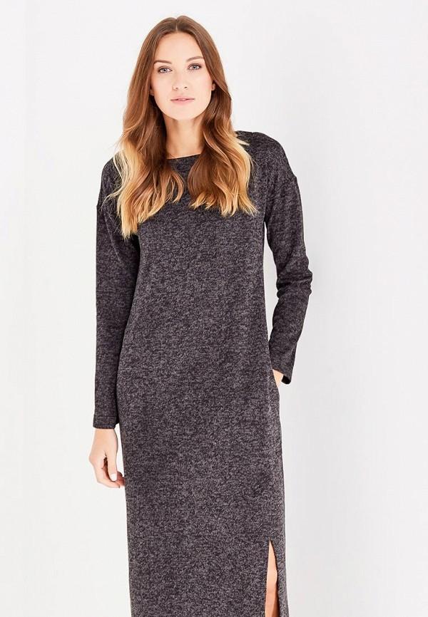Фото 2 - женское платье Sitlly черного цвета