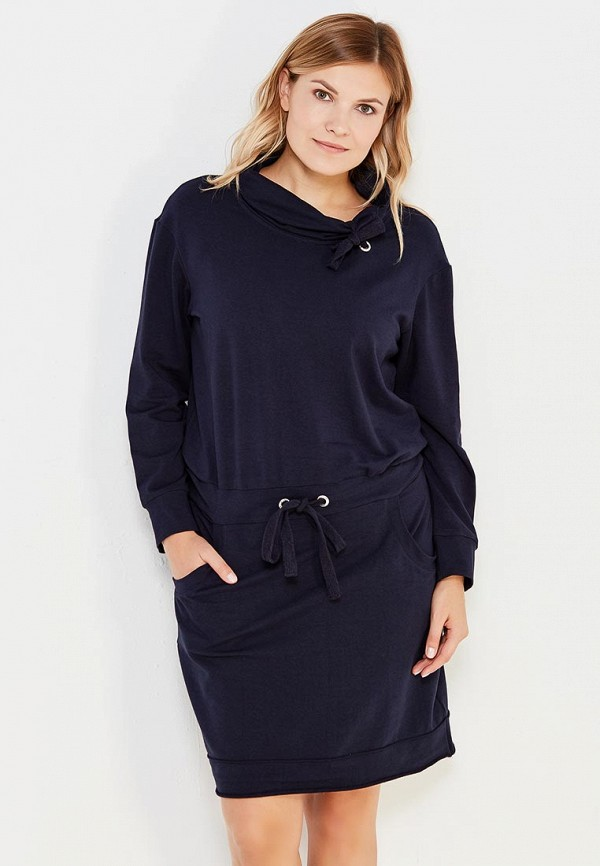 Купить Платье Sitlly, si029ewxac71, синий, Осень-зима 2018/2019
