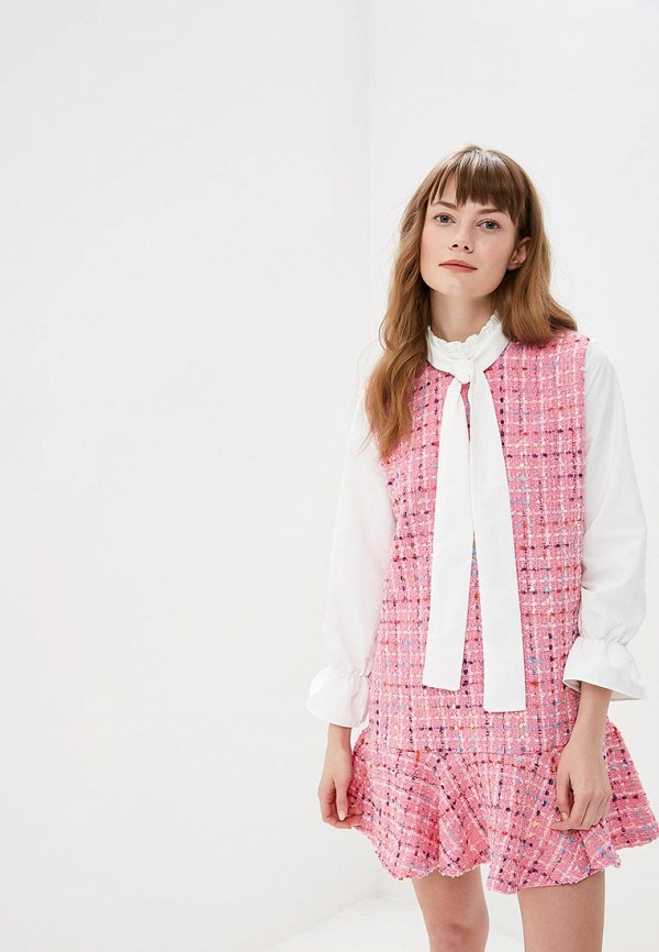 женское повседневные платье sister jane, розовое